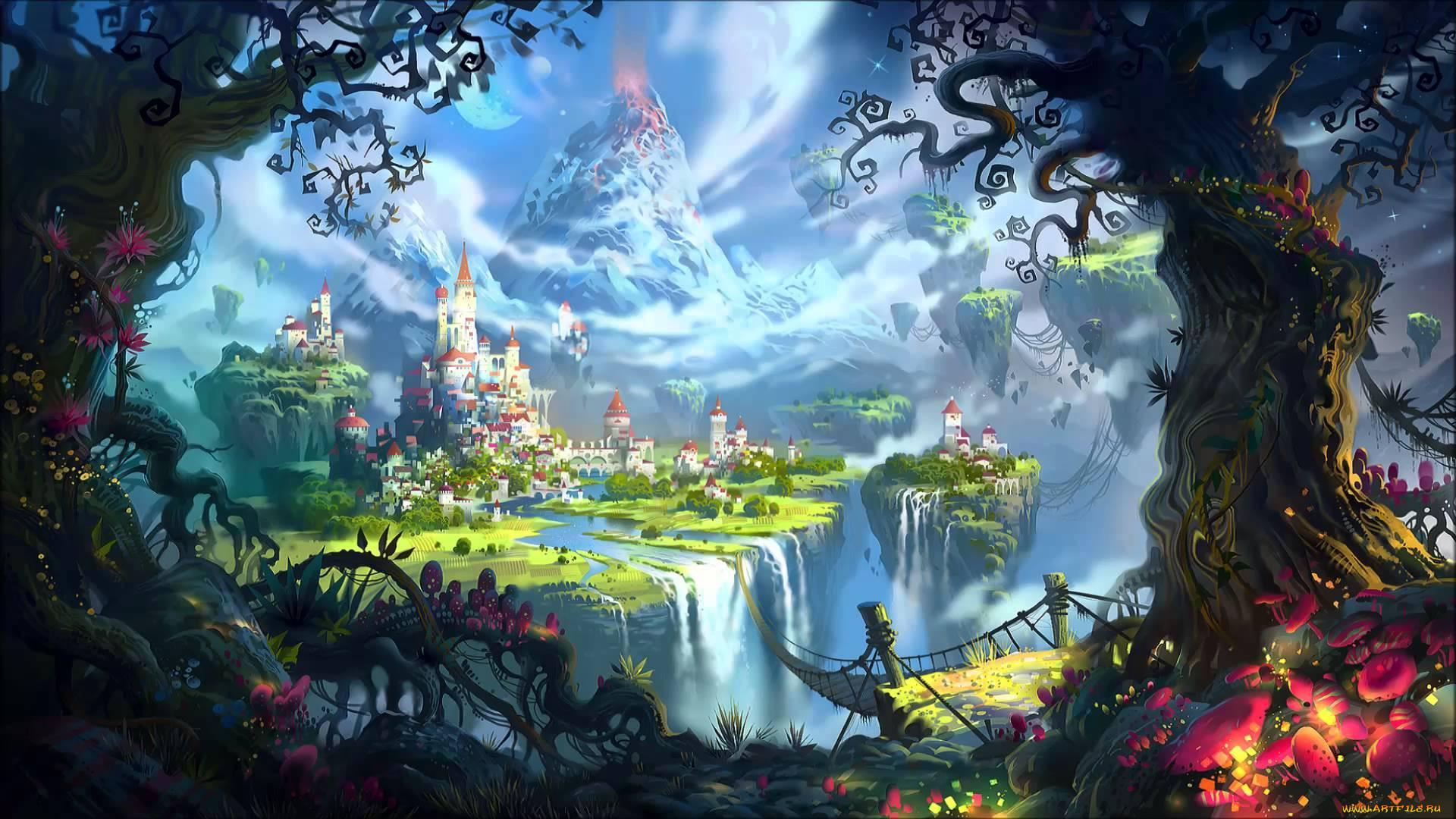 Фэнтези картинки рай